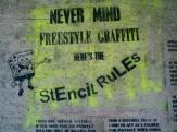 Never Mind Freestyle Graffiti - detail view (opens popup window)